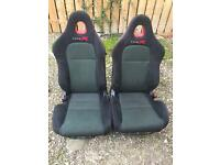 Honda Civic Type R Bucket Seats (With Rails)