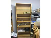 Pine book case (almost New)