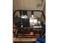Loncin lc80wb30 petrol powered dirty water pump