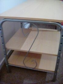 """TV Unit for home or office suitable for screen size 43""""light oak colour"""