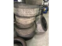 Scrap tyres for free