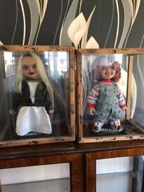 Chucky & Tiffany Sideshow Dolls