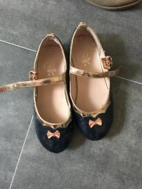 Size 9 Girls shoes TED BAKER