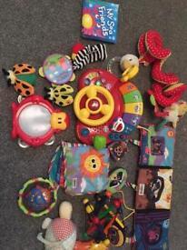 Huge selection of baby toys Lamaze sensory vtech fisher price etc