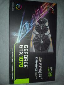 ASUS STRIX 1070 RGB EDTION 8GB