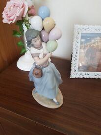 Lladro Balloon Lady