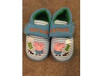Infant size 5 George slippera