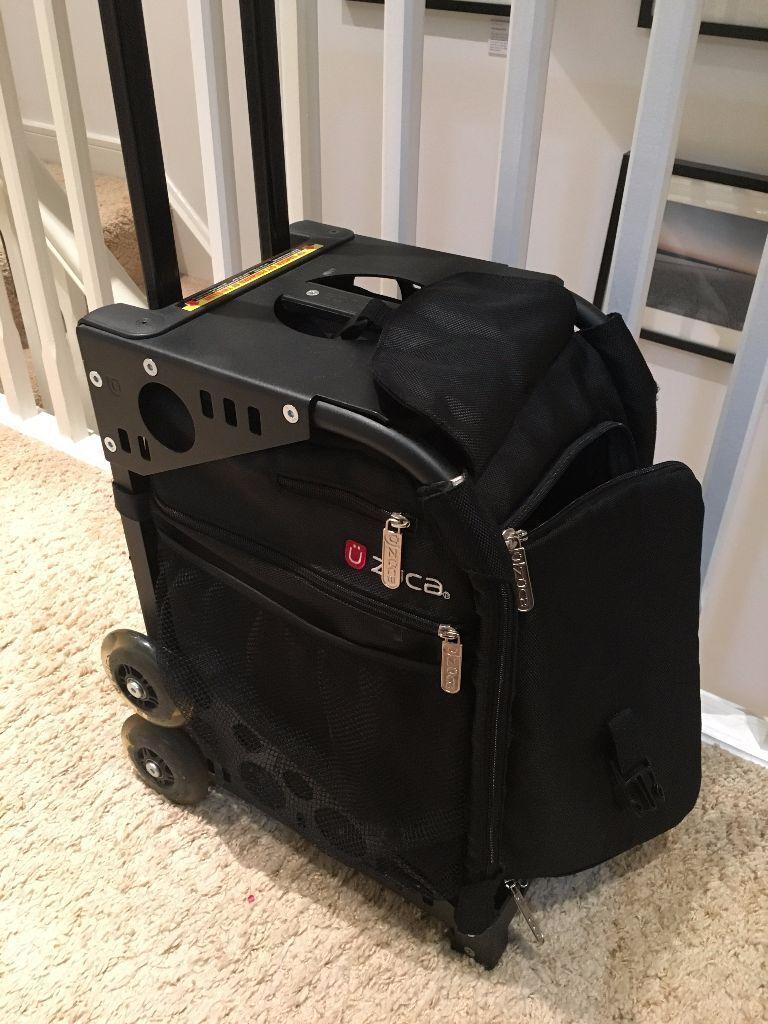 Mac Cosmetics Make Up Travel Roller Zuca Pulley Bag