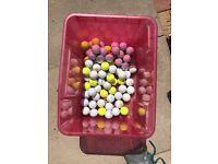 71 used Golf Balls