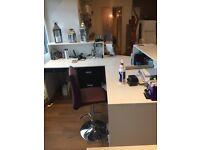 Reception desk For beauty salon hair dressers