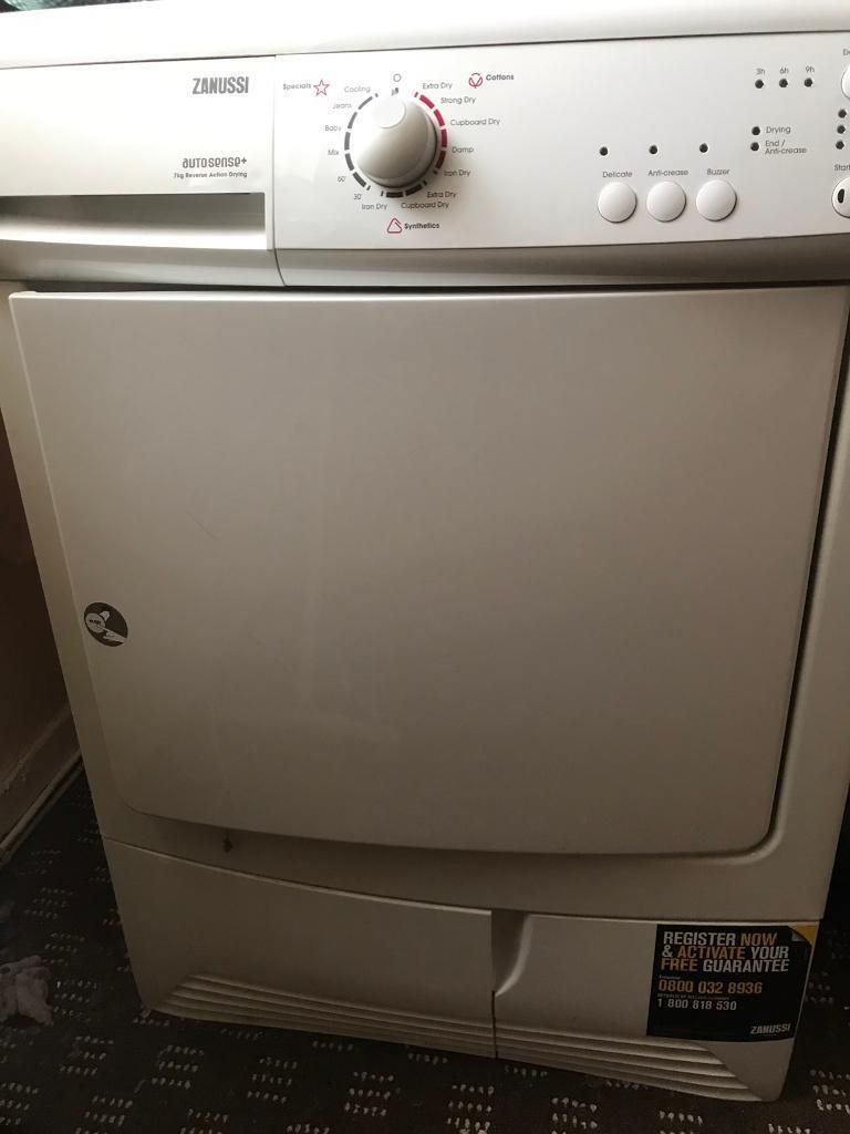 Zanussi 7kg Tumble Dryer White In Chadderton Manchester