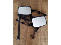 Pair of towing mirrors