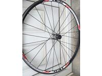 HED ARDENNES back racing bike wheel