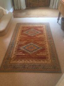 Tigris design wall rug