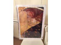 Poster (A2) Klimt's Danae