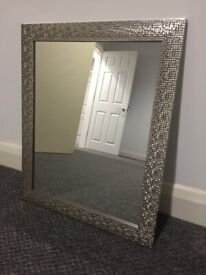 Mosaic effect mirror
