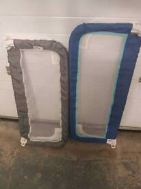 Bed rails or cot rails