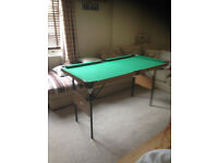 DEBUT SNOOKER TABLE