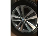 Brand new bmw116 d sports wheel