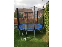 8 ft trampoline for sale like new