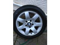 BMW 3 series alloy wheel e46
