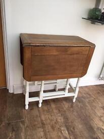 Vintage drop leaf table.
