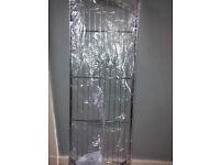 chrome pan rack