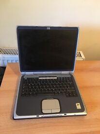 Hp laptop spare or repair no hard drive £25