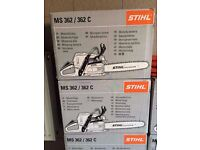 STIHL MS 362 / 362 C NEW IN BOX