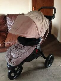 CAN POST EXC COND BABY JOGGER FOOTMUFF/COSYTOES/LINER FITS CITY MINI GT ELITE SUMMIT SINGLE DOUBLE