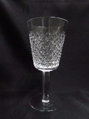 Crystal Cut Cross (Waterford Crystal Alana, Cut Cross Hatch: Water Goblet (s), 6 7/8