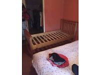 Single bed frame for sale.. please note no matress etc with it just the frame.