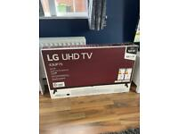 "Brand new LG 43"" UHD 4K TV"