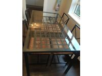 IKEA Granas Dining Table & 4 Chairs