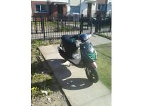 Piaggio zip with 70 kit on