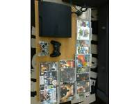PS3 slimline with 20 games