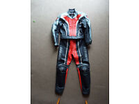 Ladies 2 piece motorcycle leathers. Dainese