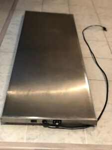 Hatco GRS-60-I Glo-Ray Heated Shelf, 60 inch