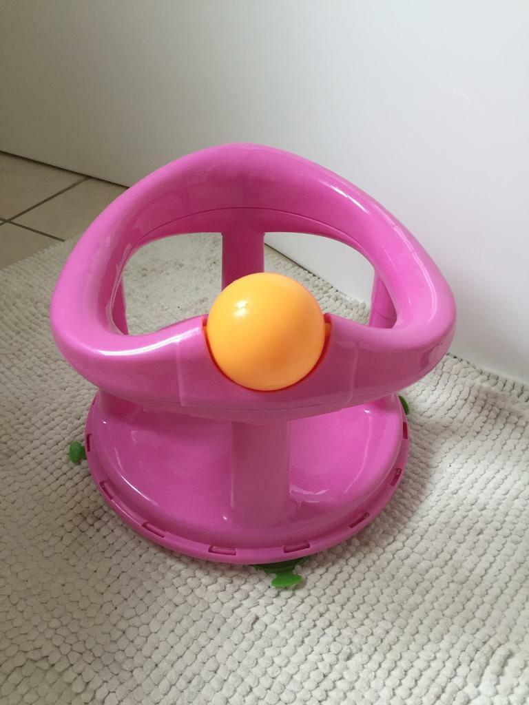 Safety 1st pink swivel bath seat