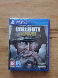 NEW Call Of Duty WW2 PS4 BRAND NEW & SEALED
