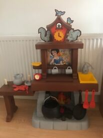 Snow white smoby play kitchen