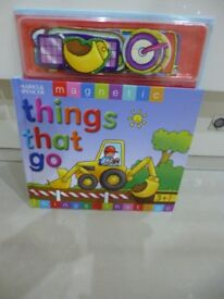 """Marks and Spencer Magnetic Book """"Things that Go"""""""