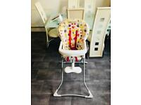 High chair for babies excellent condition(graco make)