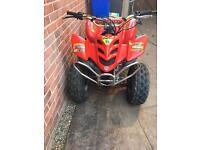 110 cc off road quad