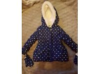 Girls 2-3 years coat. Excellent condition