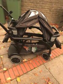Double pram/stroller
