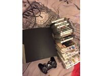 Jailbroke ps3, 250gb slim, with 19games.
