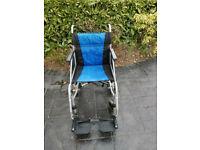 Excel G-Lite Lightweight transport wheelchair