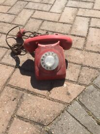 Old fashioned Red phone