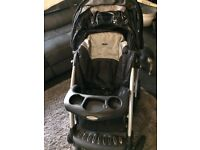 Buggy and car seat system